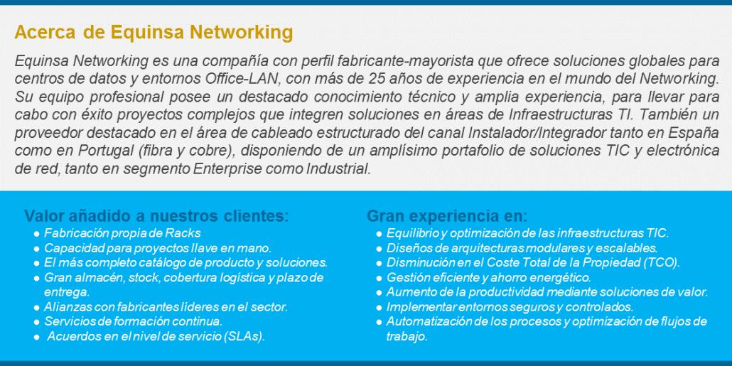 Acerca de Equinsa Networking