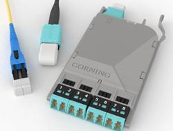 cassete y conectores Corning CLeanAdvntage